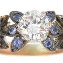 130x130 sq 1288130394014 engagementsapphireanddiamond