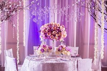 220x220 1420070664529 pink  purple romantic wedding decor 1