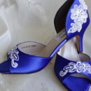 130x130 sq 1452306684959 blue wedding shoes with lace
