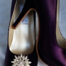 130x130 sq 1452307189248 eggplant purple closed toe wedding shoes with crys