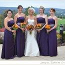 130x130 sq 1351525299779 bridesmaidspurpledressesfallcolors