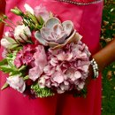 130x130 sq 1314426848201 bridesmaidsbouqetshadesofpink