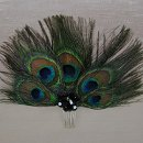 Shirley Peacock Feather Bridesmaid Comb