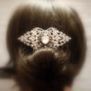 130x130 sq 1374779208607 bridal hair comb wedding hair piece vintage