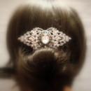 130x130 sq 1374779208607 bridal hair comb wedding hair piece vintage