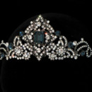 130x130 sq 1374783627314 123 blue sarah morgan bridal headpiece empress