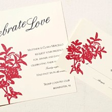220x220 sq 1320627153272 redflowerinvitation