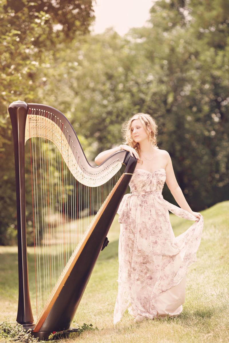 Monika Vasey Harpist Ceremony Music Arlington Va