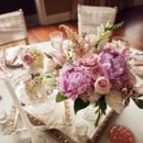 130x130 sq 1375545414695 vintage purple and pink centerpieces 500x532