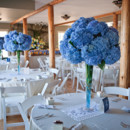 130x130 sq 1376412257200 blue centerpieces