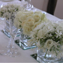 130x130 sq 1376413298574 snow white square short wedding centerpieces pictures