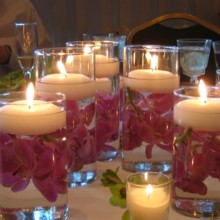 220x220 sq 1375545451787 inexpensive centerpieces for wedding reception
