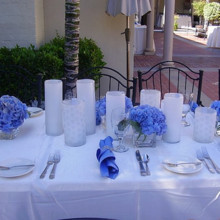 220x220 sq 1376412267157 blue centerpieces for wedding