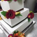 130x130 sq 1344970687109 fallflowersbuttercreamweddingcake53