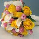 Roses, Tulips, Calla's Bridal Bouquet