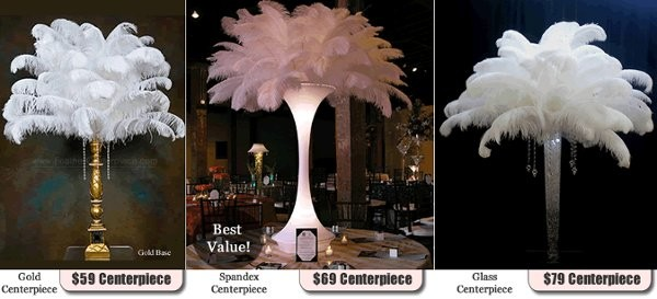 Feathercenterpieces event rentals bellmore ny