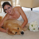 130x130 sq 1423445067514 28 bride and her dog