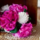 130x130 sq 1350584959540 brightpinkandcreambouquet