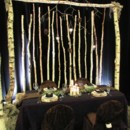 130x130 sq 1421325315436 ad birch arch with twigs hanging