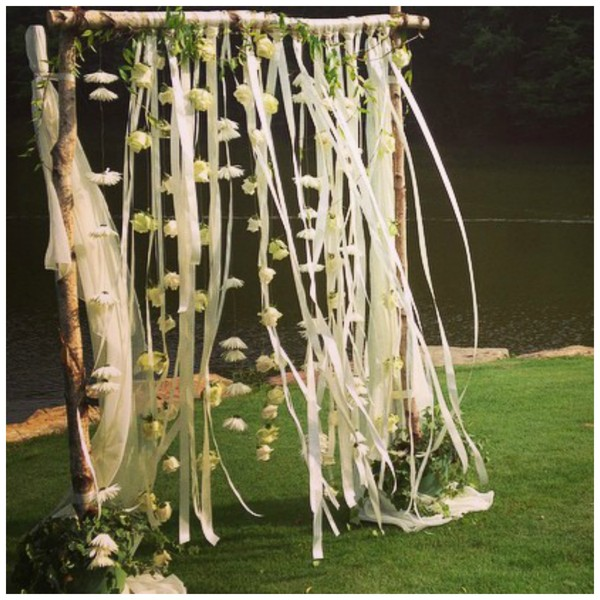 Easy Diy Wedding Arch: When Harry Met Shannon: How To Marry Your Dog In Your