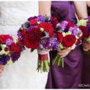 130x130 sq 1424789660382 purple and red bm bouquets