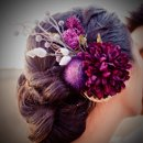 130x130 sq 1291157555723 purpleflowerheadpiece