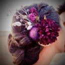 130x130 sq 1291238752817 purpleflowerheadpiece
