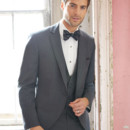 130x130 sq 1451407558143 allure steel grey grooms coat