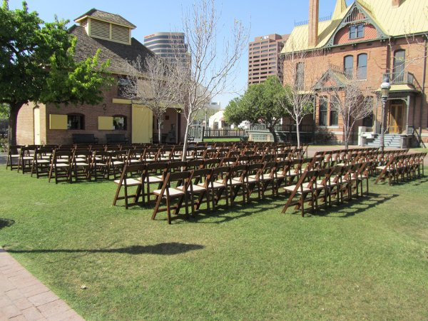 Tempe house wedding