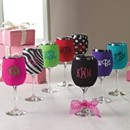130x130 sq 1366909374417 wine glass koozie