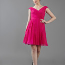 Meadow V-neck rouched bodice gown with party skirt and buttons on back. Available in various colors!