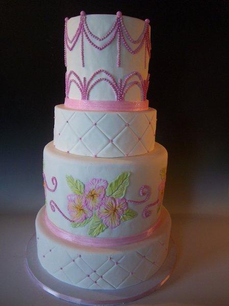Cake Art Mo : Frosted Art - Jefferson City, MO Wedding Cake