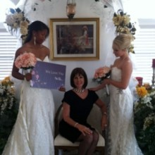 220x220 sq 1367237401113 brides me we love you sign for fb