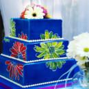 130x130 sq 1465592248502 blue daisies impressionism cake