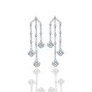 Asscher Cut Diamond Earrings by designer, Daniel K