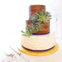 220x220 sq 1443109598683 rustic wood toned buttercream and ruffles with liv
