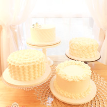 220x220 sq 1444915977708 buttercream wedding cake buffet 1200