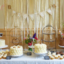 220x220 sq 1475071751710 wedding cake and cupcake buffet lake hope lodge a