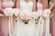 220x220 1421678788747 soft pink bridesmaids bouquets