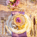 130x130 sq 1428507942980 radiant orchid shoot place setting