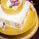 130x130 sq 1428508080994 radiant orchid shoot top of cake
