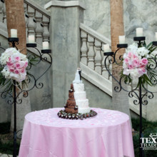 220x220 sq 1415322736270 cake and candelabras