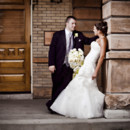 130x130 sq 1394555640040 cabel noteboom bride  groom leaning on ps colum