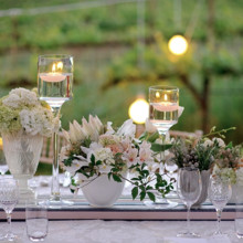 220x220 sq 1423441435351 rustic wedding white tablescape outdoor
