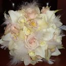 130x130 sq 1268621528173 white20feather20bouquet1