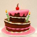 130x130 sq 1473273009742 topsy turvy birthday cake