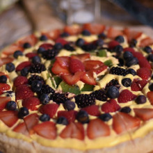 220x220 sq 1488988684122 fruit tart dessert pizza