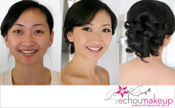 photo 12 of ECHOUMAKEUP MAKEUP & HAIR STUDIO {AIRBRUSH / HAIR EXTENSION}