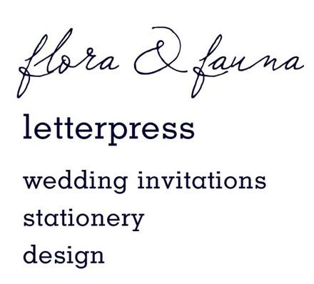 Los angeles wedding invitations reviews for invitations flora and fauna press stopboris Gallery