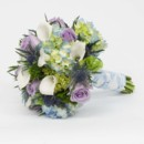 130x130 sq 1415830734528 bouquet blue white purple